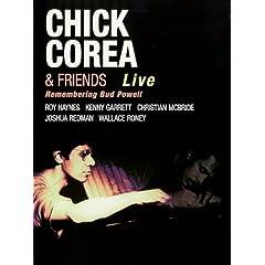 Chick Corea & Friends: Remembering Bud Powell - DVD (Zone USA)