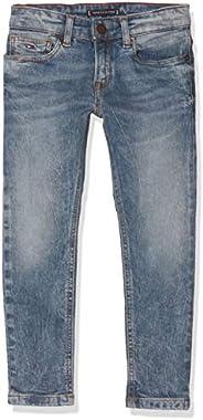 Tommy Hilfiger Steve Slim Tapered LIGBST Jeans para Niños