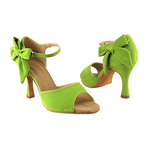 Party Shoes Comfort Dance Pigeon Latin Women Party Medium SERA3830 Pump Salsa Wedding Salsa High Evening Swing Ballroom 7010 Shoes Swing Latin Tango green Heel Dress Gold Shoes Tango OqvwXdxOt