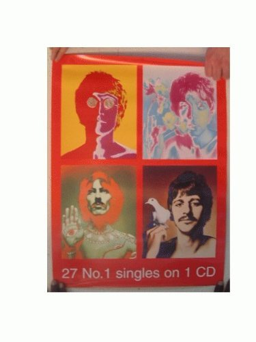 The Beatles Poster Richard Avedon Number Ones