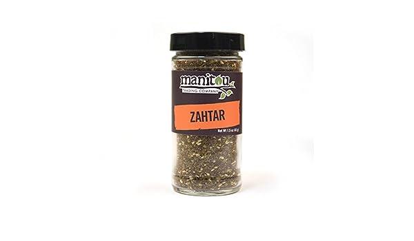 Amazon com : Zahtar, 1 5 Oz Glass Jar : Grocery & Gourmet Food