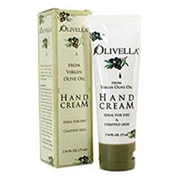 Olivella Hand Cream From Virgin Olive Oil 2.54 oz Pack of 4