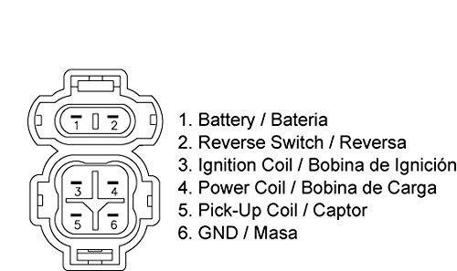 1543 New CDI Box for Honda TRX 300 EX Fourtrax Sportrax OEM Repl. # 30410-HM3-003