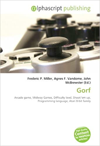 Gorf: Arcade game, Midway Games, Difficulty level, Shoot em up, Programming language, Atari 8-bit family: Amazon.es: Miller, Frederic P, Vandome, Agnes F, McBrewster, John: Libros en idiomas extranjeros