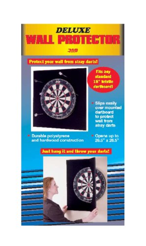 DMI Sports Deluxe Large Folding Wall Protector Regulation-Size 18-Inch Bristle Dart Boards by DMI Sports