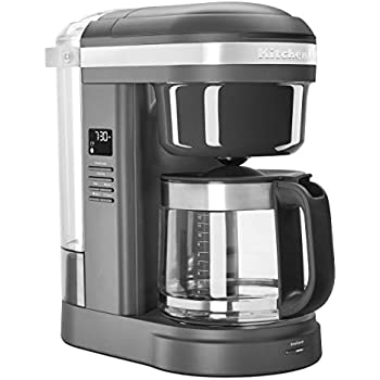 Amazon Com Kitchenaid Kcm111ob 12 Cup Glass Carafe Coffee