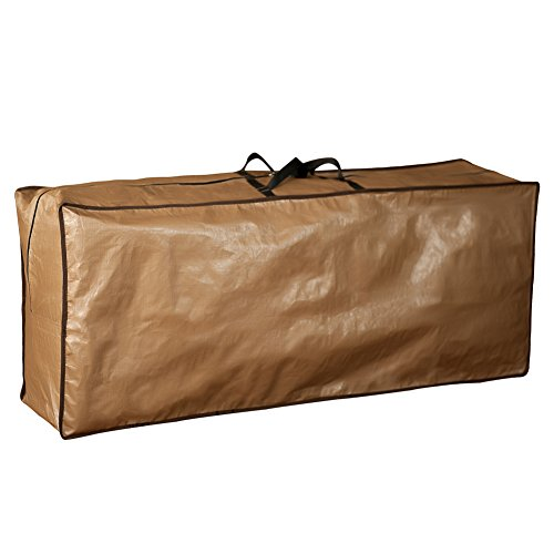 (Abba Patio Outdoor Rectangular Cushion/Cover Storage Bag, Protective Zippered Storage Bags with Handles, 79''L x 30''W x 24''H)
