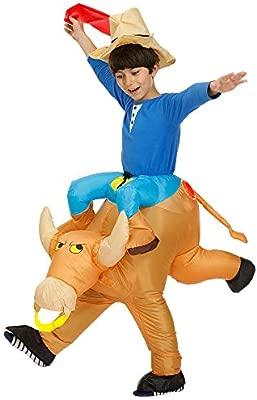 AFuex - Disfraz Hinchable de Toro para Halloween, Cosplay o ...