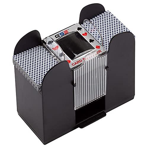 mezclador automatico de cartas para 1-6 mazos gse games