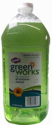 Green Works All-Purpose Cleaner, 1 Refill Bottle 100 Oz