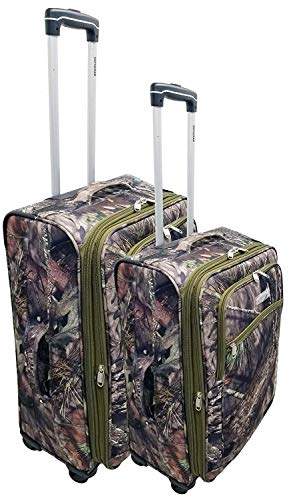 Explorer Mossy Oak Luggage Realtree Like Hunting Camo Heavy Duty Duffel Bag Luggage Travel Gear Bag Police Outdoor Lady Man Polyester Heavy Duty Webbing ()