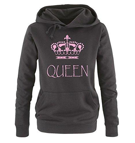 en Épouse blanc dames Mari Amour Crown bleu Couples xxl Print King Couples Queen Couples Noir rose Him hoodies S blanc Partnerlook noir pour Amour gris cqxHRzc6fw