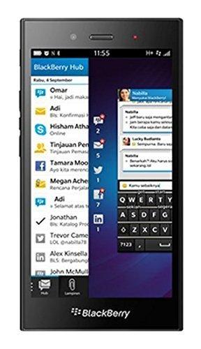 BlackBerry STJ100-1, Z3 Factory Unlocked Touchscreen, Long-Lasting Battery Smartphone, 5MP Camera, 8 GB - Black