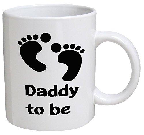 Funny Mug - Daddy To Be, Dad, Father, Newborn, Baby - 11 OZ Coffee Mugs - Funny Inspirational and sarcasm - By A Mug To Keep TM