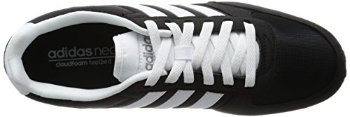 adidas Neo City Racer, Men's Running Shoes Negro (Negbas / Ftwbla / Gris)