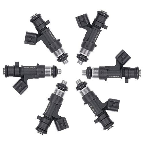 TUPARTS Fuel Injectors Set 6pcs 4Holes Fuel Injector Parts fit for Chrysler 300 Town Country Sebring Pacifica,Dodge Avenger Challenger Charger Journey Grand Caravan Magnum Nitro Stratus ()