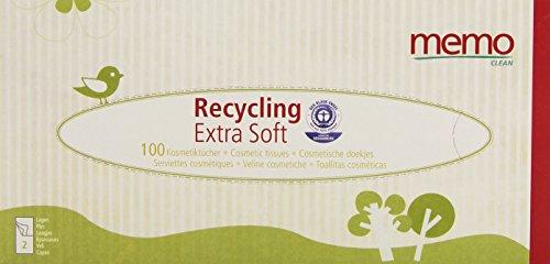 Memo Hygi?ne Bio ECO MH1067 Tissues Recycled Paper in Box by Memo from Memo