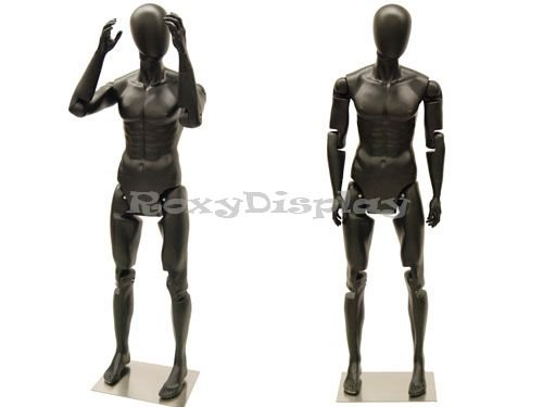 (MD-Z-MFXBEG) ROXYDISPLAY™ Male Mannequin, Flexible Head, arms and Legs.