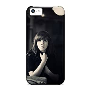 DaMMeke Iphone 5c Well-designed Hard Case Cover Lonely Girl Protector