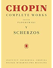 Scherzos: Chopin Complete Works Vol. V