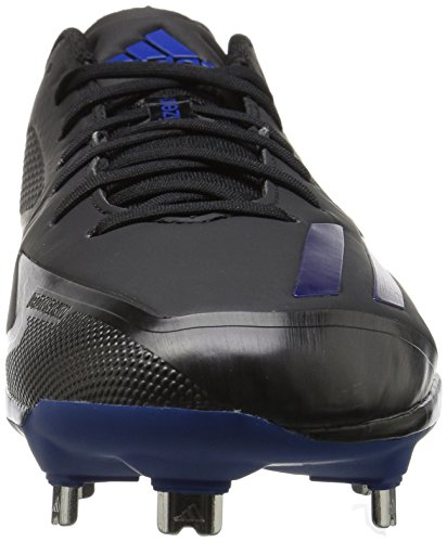 Scarpa Da Baseball Adidas Mens Freak X Carbon Mid, Nera / Collegiale Royal / Collegiale Royal, (10 M Us)