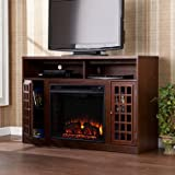 Camden Electric Fireplace Media Console, Espresso - Best Reviews Guide