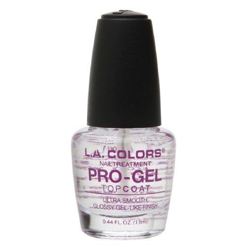 L.A. Colors Pro-Gel Topcoat Nail Treatment 0.44 fl oz (13 ml)
