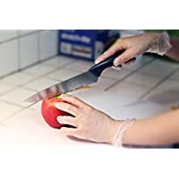 EDI Powder Free Vinyl Disposable Gloves - food prep