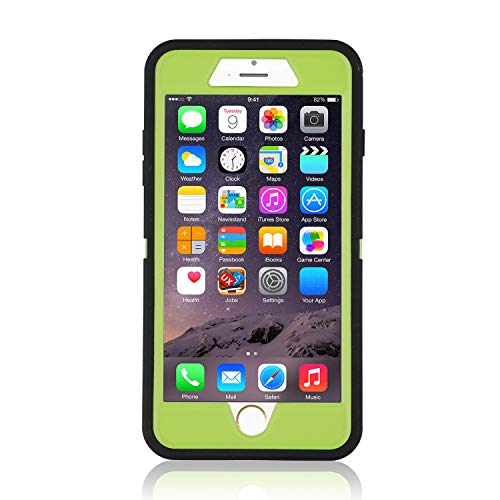 iPhone 7+/8+ Case, [Heavy Duty] Defender Armor 3 in 1 Built-in Screen Protector Rugged Cover Dust-Proof Shockproof Drop-Proof Scratch-Resistant Shell for Apple iPhone 7 Plus/8 Plus 5.5