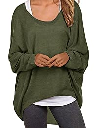 Women's Sweater Casual Oversized Baggy Off-Shoulder...