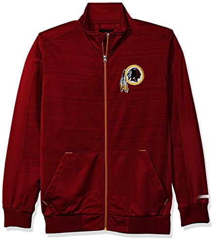 Nfl Sports Apparel (NFL Arizona Cardinals Men's Progression Full Zip Track Jacket, Large, Cardinal)