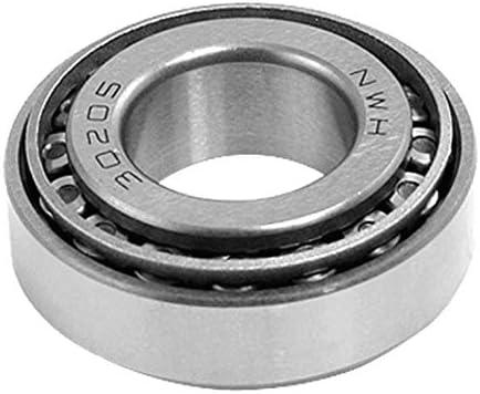 Insmart 25 mm x 52 mm x 16,25 mm Silberkegel-Kegelrollenlager 30205 einreihig