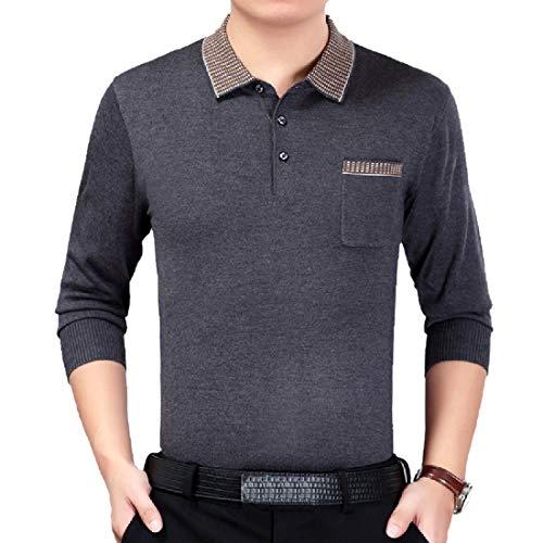 Mfasica Men's Homewear Original Fit Lightweight Pique Polo Shirt 8 2XL ()
