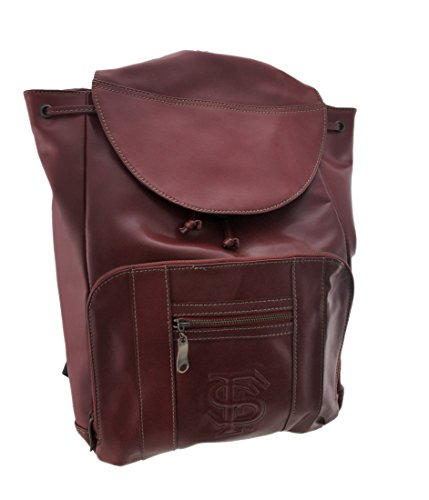 NCAA Officially Licensed Florida State University Seminoles Leather Backpack FSU