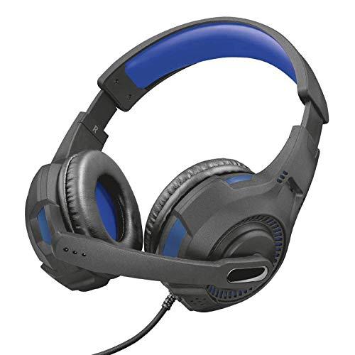 Headset Gamer PS4 / XBOX ONE/SWITCH/PC/LAPTOP GXT 307 Ravu 40mm - Preto e Vermelho - Trust