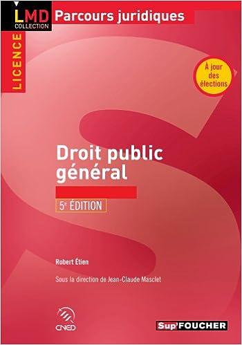 Lire un Droit public général 5e édition pdf epub