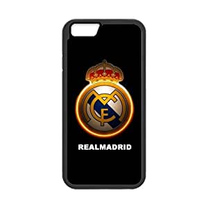 2015 customized iPhone 6 Case, [Real Madrid CF] iPhone 6 (4.7) Case Custom Durable Case Cover for iPhone6 TPU case(Laser Technology)