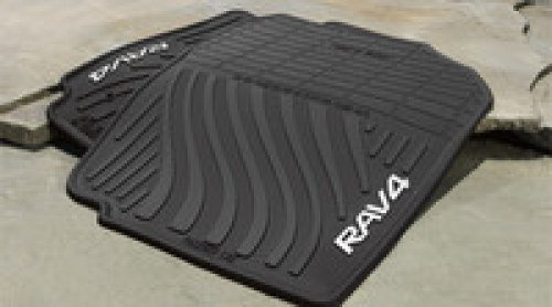 Genuine Toyota All-Weather Floor Mats for 2007-2012 Toyota Rav4-Set of 4, New, OEM,