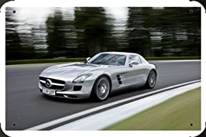 Mercedes Benz Sls Amg Speed metal poster cartel hojalata signo 40x60cm