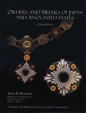 Read Online Orders and Medals of Japan and Associated States PDF