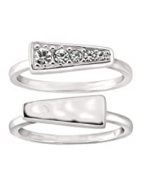 Silpada 'Spotlight Stack' Sterling Silver Rings