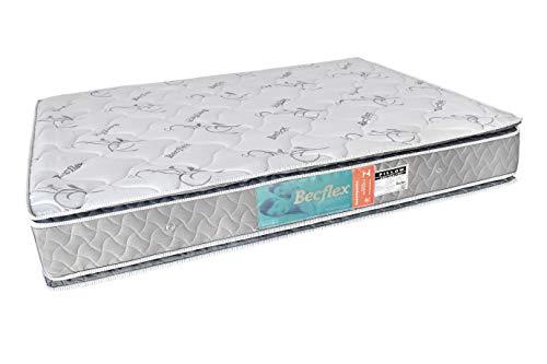 Colchão Queem Becflex. Firme. Vision Pillow Top. 1,58 x 1,98 x 0,28 Densidade 80 Kg/m³