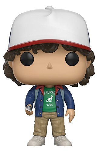 Funko POP Television Stranger Things Dustin with Compass Toy Figure 13323 Accessory Toys & Games Miscellaneous