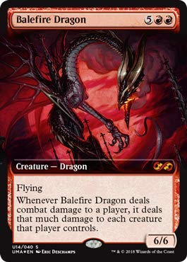 (Magic: The Gathering - Balefire Dragon - Foil - Ultimate Masters Box Toppers - Mythic Rare)