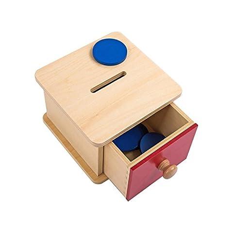 Montessori Coin Box (Montessori One Year Old)
