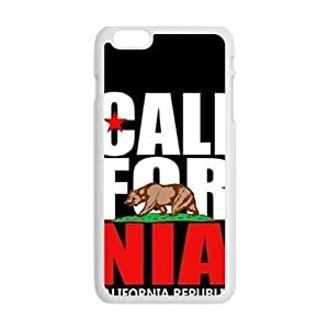 california republic t shirt Phone Case for Iphone 6 Plus
