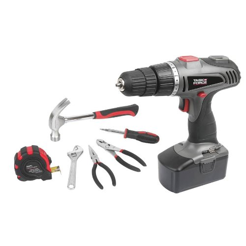 Task Force 18-Volt 3/8″ Cordless Drill/Driver PT11101 For Sale
