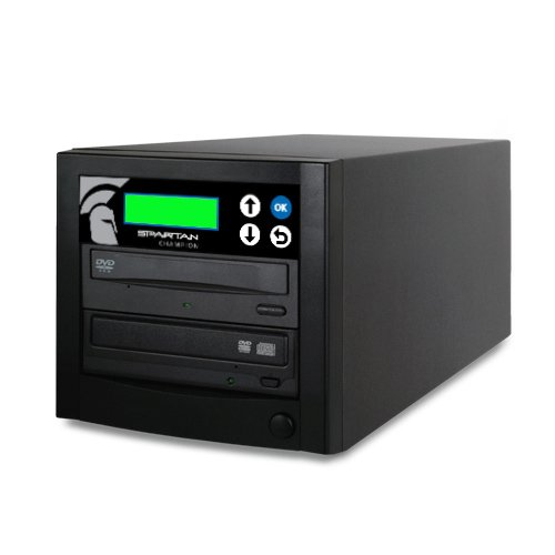 Spartan Champion 1-Target DVD CD Duplicator 24x Burner with Lightscribe Label Printing (D01-SCHTL) by Spartan (Image #2)