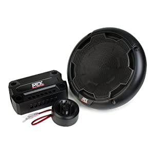 MTX Audio THUNDER61 Ohm Component Components - Set of 2