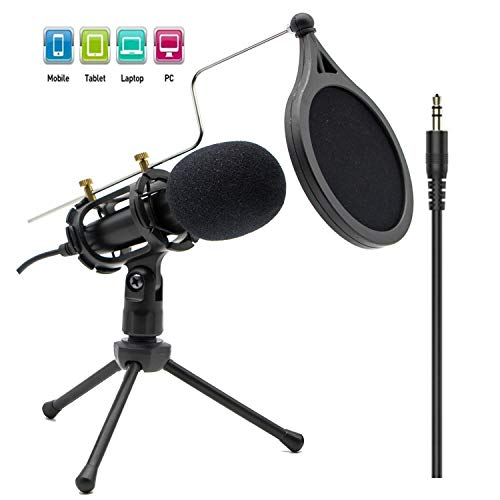 Condenser Recording Microphone 3.5mm